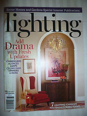 Better Homes & Gardens Lighting Magazine 2016 BRAND NEW! FREE SHIPPING!