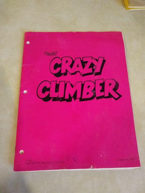 Crazy Climber Arcade Manual