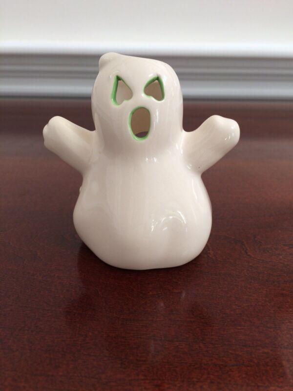 Halloween Ghost Ceramic Candle Holder Tea Light Holder 2005