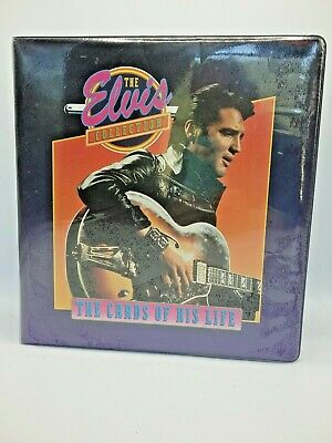The Elvis Collection The Cards of his Life Binder The King Rock N Roll