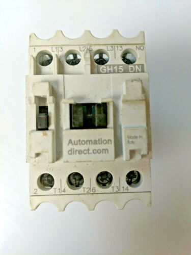 AUTOMATIONDIRECT CONTACTOR  GH15DN