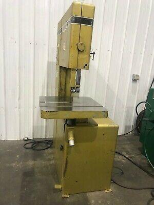 20 Powermatic Model 81 Vertical Bandsaw Yoder 67750
