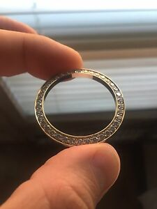 ROLEX 3.3ct Diamond Bezel Solid 18k Yellow Gold
