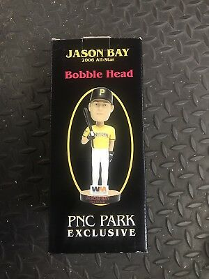 Jason Bay Pittsburgh Pirates Bobblehead 2006 Nl All Star New Rare Mlb Exclusive
