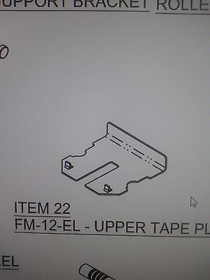 Fm12el Better Pack 333 Plus Upper Tape Plate New