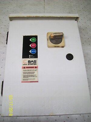 Cerus Bas Manual Motor Starter Controller Cb-156419 Bas3r-9j-g1-1.5
