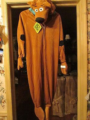 Kid's Plush Scooby Doo Costume Size Medium NWOT (Scooby Doo Kids Costume)