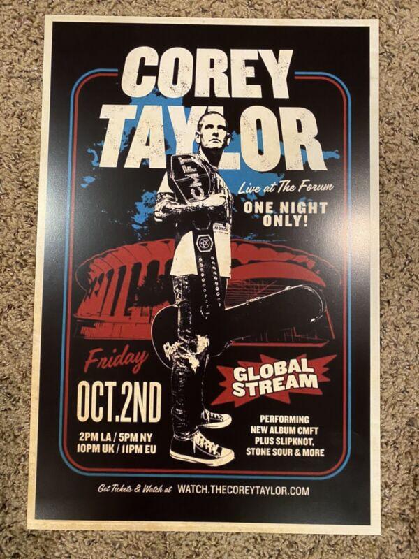 Corey Taylor Solo Show Poster  (Slipknot)