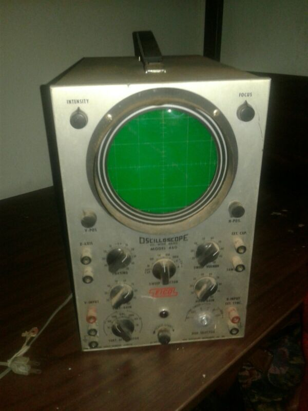 EICO Oscilloscope Model 460 DC-WIDE BAND WORKING