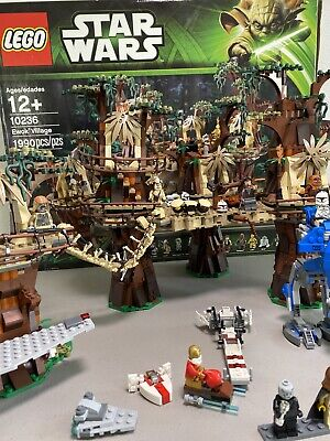 Lego Star Wars Ewok Village Set # 10236 LEGO Star Wars Lot