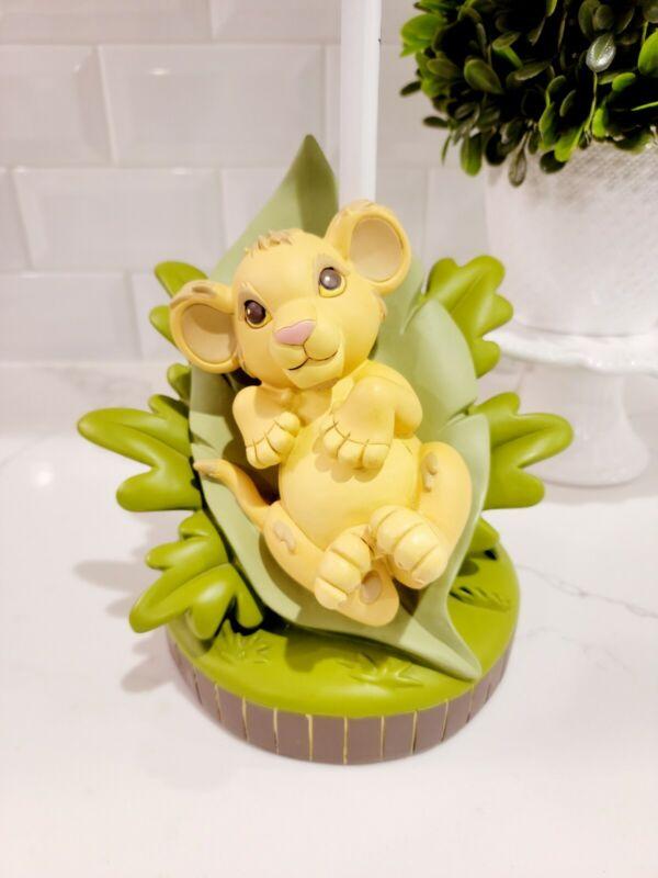 DISNEY • The Lion King • Baby Simba Jungle Nursery Room Lamp Base • ADORABLE!