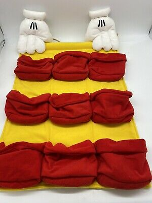 Disney Mickey Mouse Fabric Cloth Advent Calendar Christmas Countdown Style