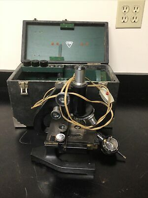 Vintage Bausch Lomb Microscope
