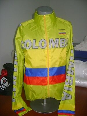 COLOMBIA BIKE JACKET CAFE DE COL BIKE WINDPROOF L COOL COLUMBIA NEON COLOR SAFET