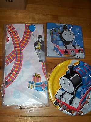Thomas the Train Birthday Party Supplies Multi-color 5pc Lot Party Express NOS