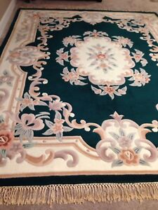 100% Wool Carpet, Hand Knotted