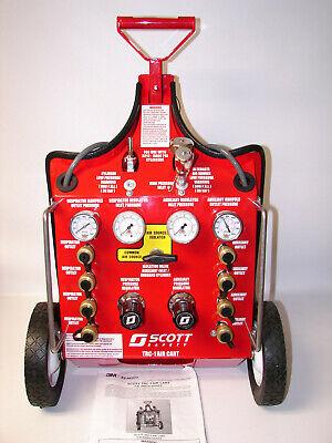 New Scott Fire Service Trc-1 Air Cart 8 Outlet Aux. Inlet Hansen Style