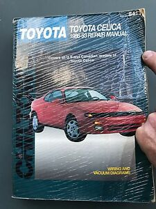 Toyota Celica Repair Manual 1986 to 1993