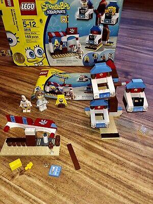 Lego 3816 Spongebob Squarepants Glove World Not Complete 3 Mini Figures!