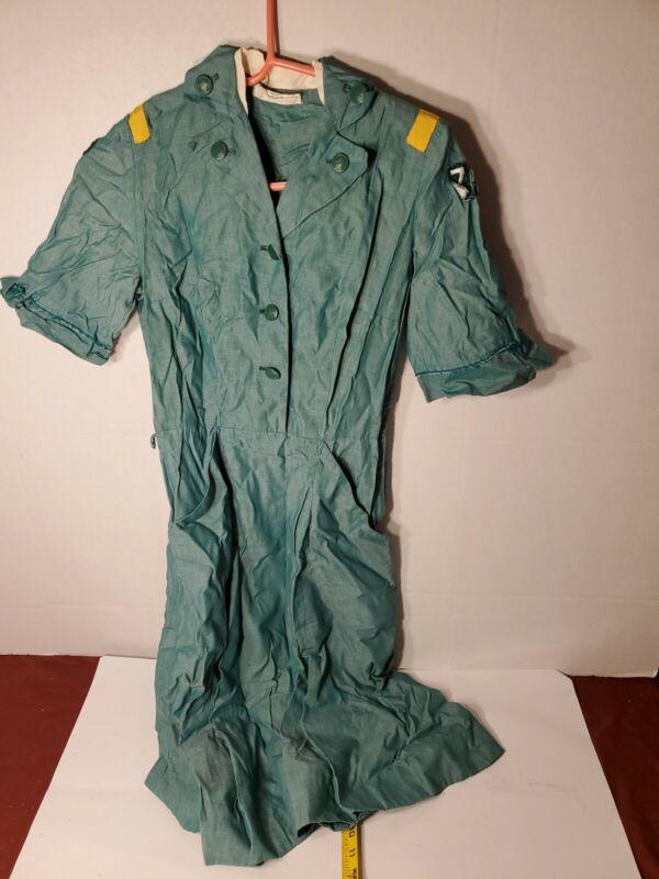 Vintage Girl Scout LEADER UNIFORM DRESS 1953