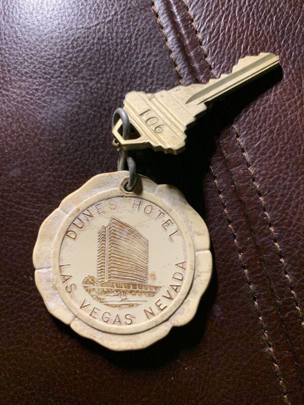 Vintage Casino Hotel Motel Room Key (Dunes Hotel) Las Vegas, NV Room 901