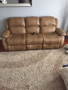 Recliner couch set ( 2 & 3 seat couches )