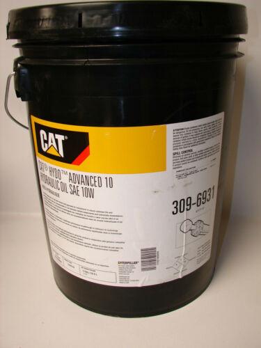 CAT Hydo Advance 10 Hydraulic Oil SAE 10W 309-6931 Fluid (5-Gallon)