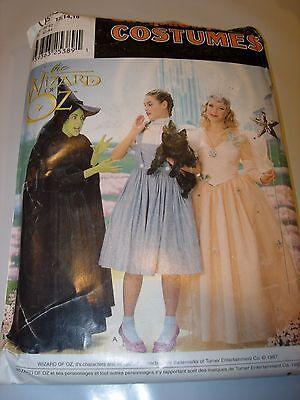 WOMENS UNCUT SIMPLICITY 0632 WIZARD OF OZ Pattern HALLOWEEN COSTUME size 12-16 ](Wizard Of Oz Halloween Costume Patterns)