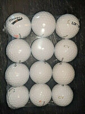 One Dozen TaylorMade Tour Preferred Golf Balls in Very Good or Better
