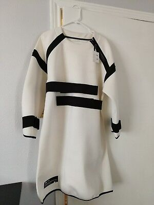 Brand New, never used with tags designer white Puma x UEG women's dress (medium)