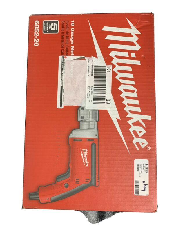 Milwaukee 18GA Corded Electric Metal Shear 6852-20 BRAND NEW In 📦!!!!