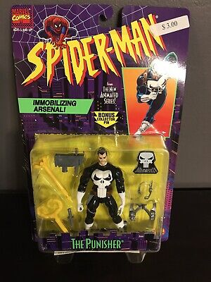 1995 TOYBIZ SPIDER-MAN THE PUNISHER SERIES 5 ACTION FIGURE! NEW AND NO RESERVE!