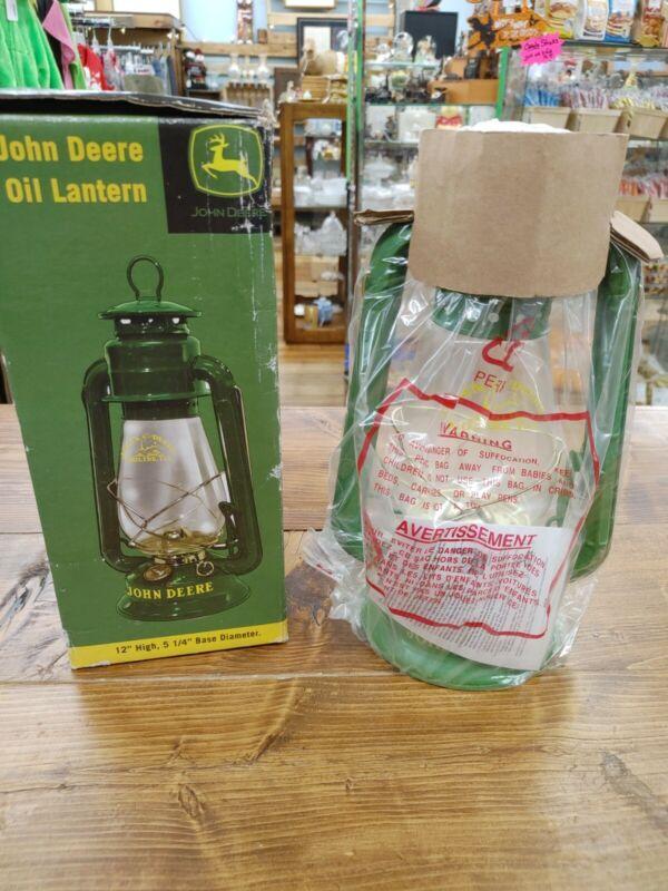 John Deere Oil Lamp - NEW IN PACKAGE!!!!