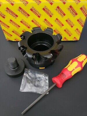 New Sandvik Indexable Face Mill Profile Cutter Ra300-102r38-16h 4 Dia Coromill