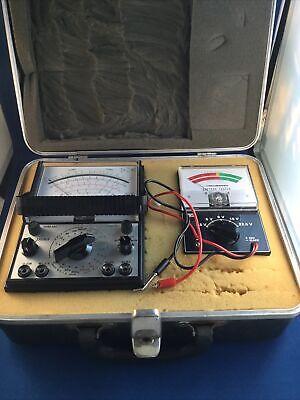 Vintage Micronta Multitester Model 22- 206 And Battery Tester