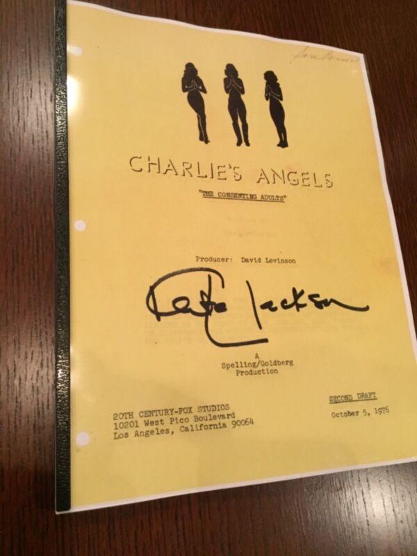 KATE JACKSON - script CHARLIE'S ANGELS 1976 FARRAH FAWCETT