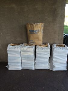 4 XXL Dry Birch Firewood Bags+Kindle+Free Delivery $140