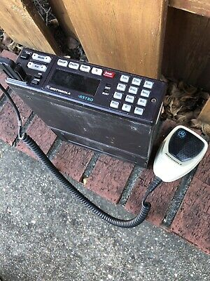 Motorola Astro Spectra Model D04ujh9sw7an With Mic
