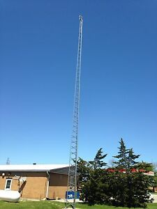 Internet and TV Antenna Tower Installs