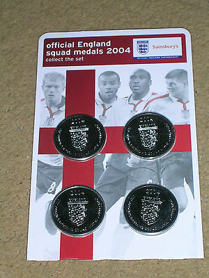 England Football Medals Semi Final European Championships 04 World Cup 2018 New