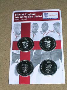 England Football Coins Sainsburys European Championships 04 World Cup 2018 New