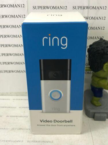 Ring Video Doorbell (2nd Gen) - 1080p HD - Satin Nickel - 2020 Release