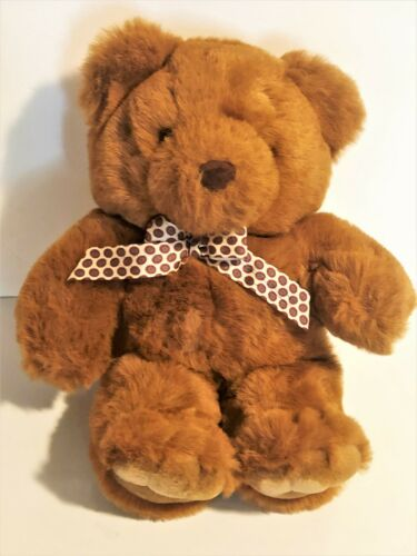 """Keel Toys Simply Soft Collection 14"""" Brown Teddy Bear"""
