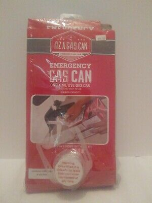 Itz A Gas Can Emergency Foldable Collapsible Gas Can Container 1 Gallon