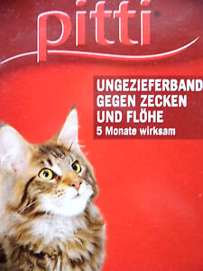 Flohhalsband, Zeckenhalsband, Ungezieferhalsband, Katze, Zecke, Flöhe Katze