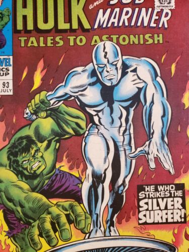 Tales to Astonish 93 Marvel Comics Early Silver Surfer