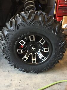 Wheel tire package