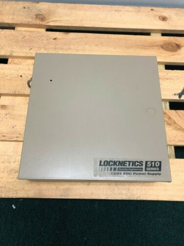 Locknetics 510 Power Supply with EIR Relay and (1) DCM (Tested / Used)