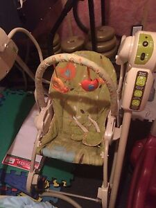 Motorized Baby Swing $20