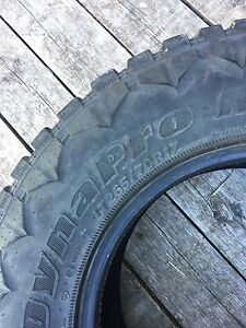 265/70r17 Hankook Dynapro tires